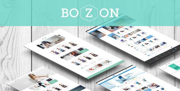 Bozon - адаптивная премиум тема для PrestaShop