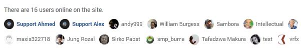 UserPro - онлайн пользователи
