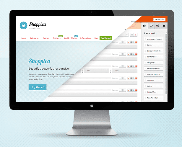 Shoppica Page Builder