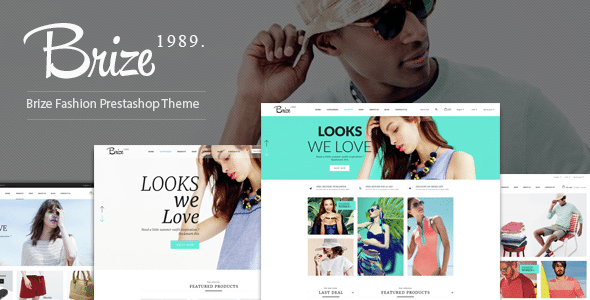 Brize - Responsive Prestashop Fashion ThemeBrize - Responsive Prestashop Fashion Theme
