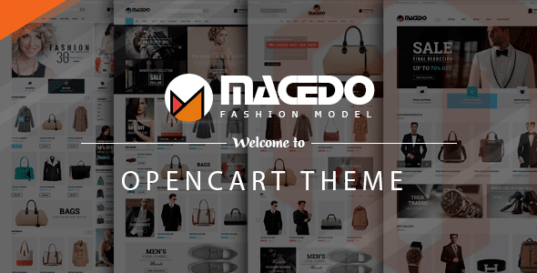 Macedo - Fashion Responsive Opencart Theme